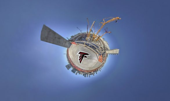 Falcons Mercedes Benz Stadium