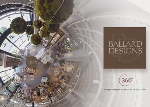 Ballard Designs 360 Video and Tour